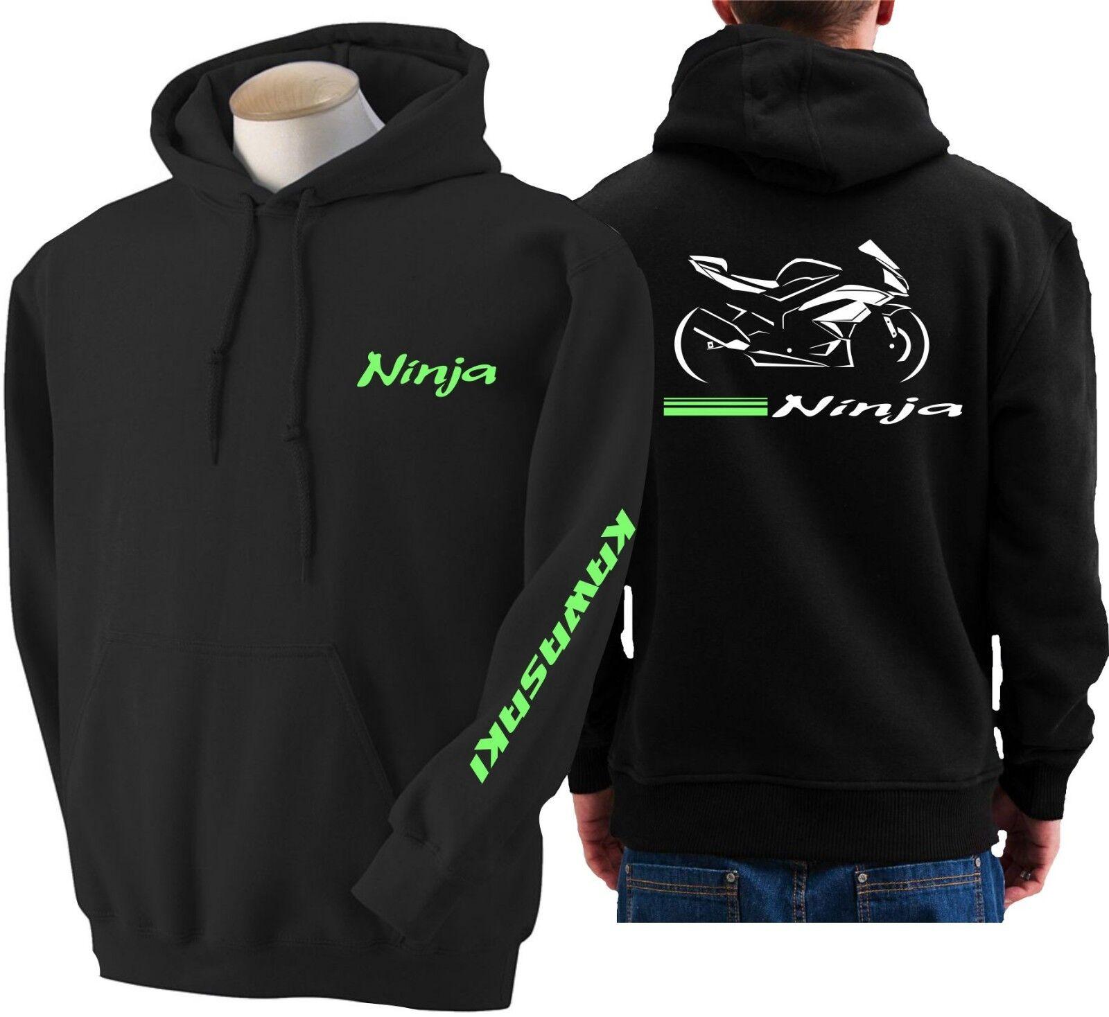 Hoodie for bike KAWASAKI ZX 6R sweatshirt hoody ZX6R Sudadera moto sweater ZX-6R