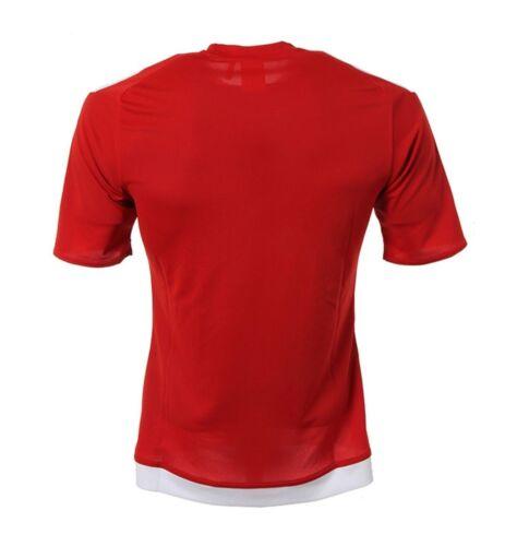 NWT Adidas Men Estro 15 Climalite Top Soccer Futball Fitness Jersey S//S S16149