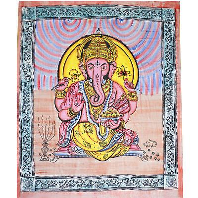 Giorno Soffitto Ganesh Missoni Letto Su Lancio Dekotuch India Yoga Goa Ganesha Colorato- Fabbricazione Abile