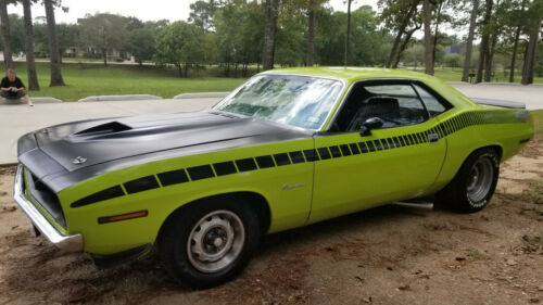 s-l500 in  1970 Plymouth Barracuda (Cuda) AAR Tribute Green in Cars For Sale or Wanted