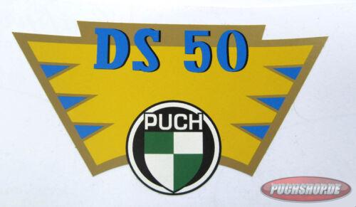 Aufkleber Kotflügel Hinten Puch DS 50 Sticker DS50 Oldtimer Mofa Teile