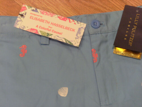 Lilly Pulitzer Jr Hasselbeck Embroidered Shorts 8 10
