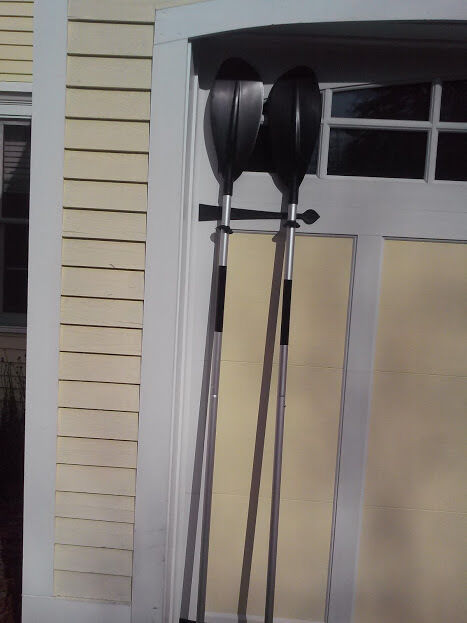 Oars with Spoon Blade - Pair - Also Makes into Kayak Paddle - by Cannon