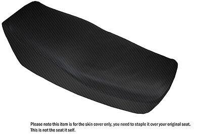 CARBON FIBER VINYL CUSTOM FITS RIEJU MRT 50 DUAL SEAT COVER