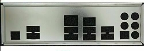 NEW IO I//O SHIELD BLENDE BACKPLATE BRACKET for Intel DX79SI