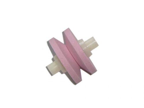 Minosharp 445 Ersatzkeramikstein Ersatzrollen für Messerschärfer 440-BR pink
