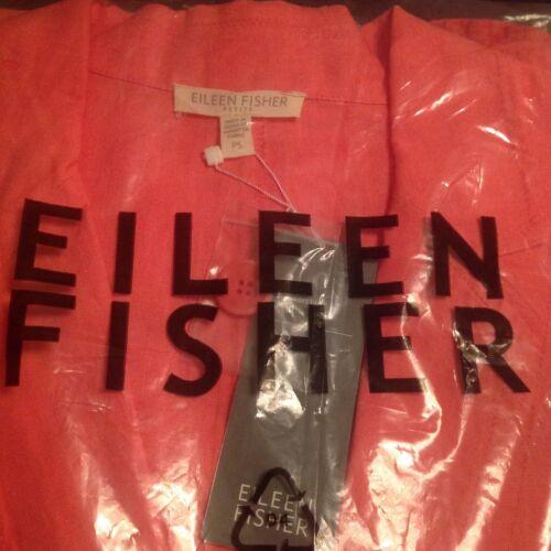 encolure lin Ps en irlandais Mouchoir 238 Sz Eileen creuse 100 Nwt à Fisher Veste à qvyaT