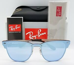 0543f1867c Image is loading NEW-Rayban-Blaze-Clubmaster-sunglasses -RB3576N-Copper-Violet-