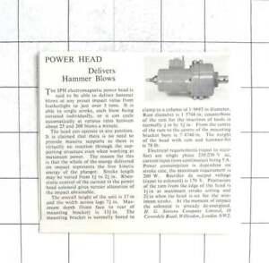 1962-HG-Stevens-Ltd-Willesden-Powerhead-Delivers-Hammer-Blows
