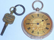 14K Gold Victorian Gents Pocket Watch,J.G.Graves Sheffield