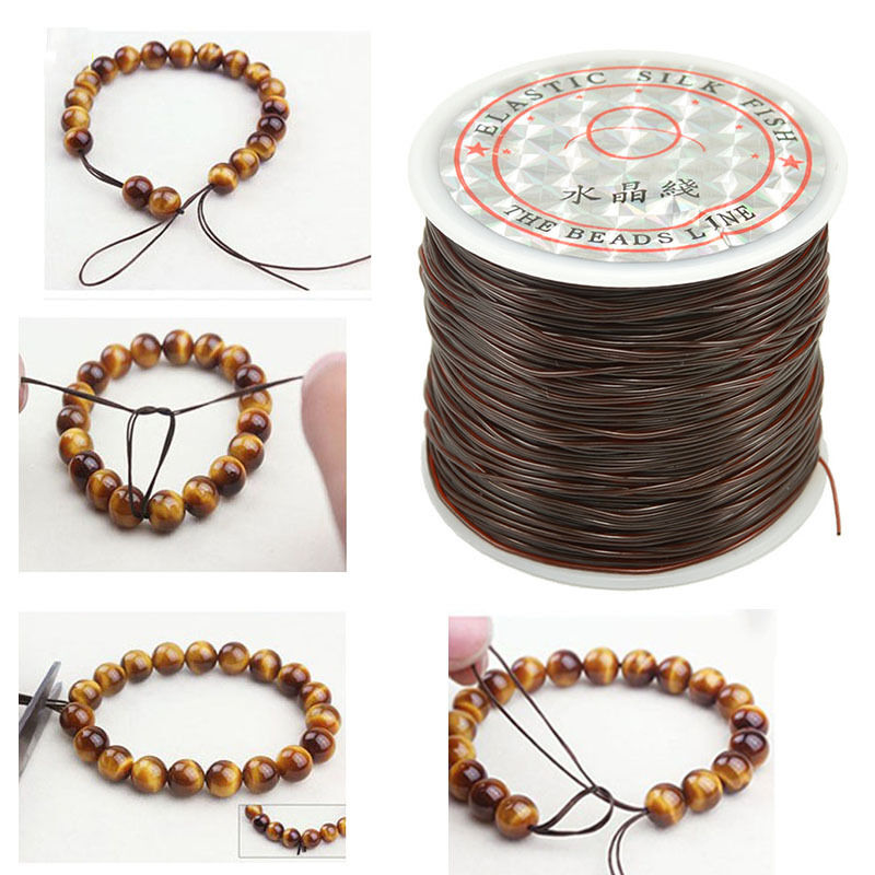 strong elastic stretchy beading thread cord bracelet
