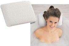 BIANCO di lusso bagno di schiuma cuscino cuscino spugnoso Spa Vasca Testa Collo Riposo rilassante Aiuto