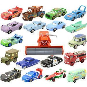 Rare-Disney-Pixar-Cars-Metal-Frank-Tractor-Lightning-McQueen-The-King-Toy-Gifts