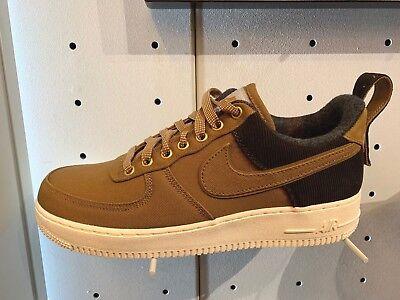 Nike Air Force 1 Low Premium X Carhartt WIP Ale Brown Sail AF1 Shoes AV4113 200