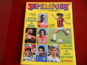 Album-Figurine-Panini-034-SuperSport-034-1988-Q-Edicola-con-Inserti