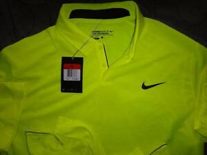 75fbd28aedc1 NIKE GOLF TOUR PERFORMANCE BODY MAP WOOL POLO SHIRT SIZE 2XL XL L ...
