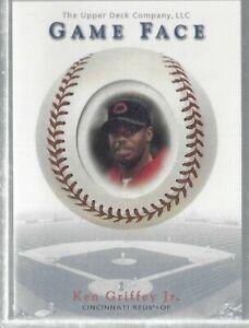 Ken Griffey Jr 2003 Upper Deck Game Face Sample SP Reds MLB!!