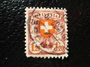 Switzerland-Stamp-Yvert-Tellier-N-209-Cancelled-A47