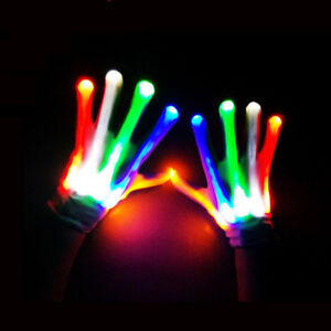 XBone-Rave-LED-Gloves-Burning-Wear-Man-Light-Up-Show-FREE-SHIPPING