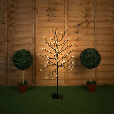 90cm Indoor / Outdoor Battery Operated LED Cherry Blossom Tree Light Garden IP44