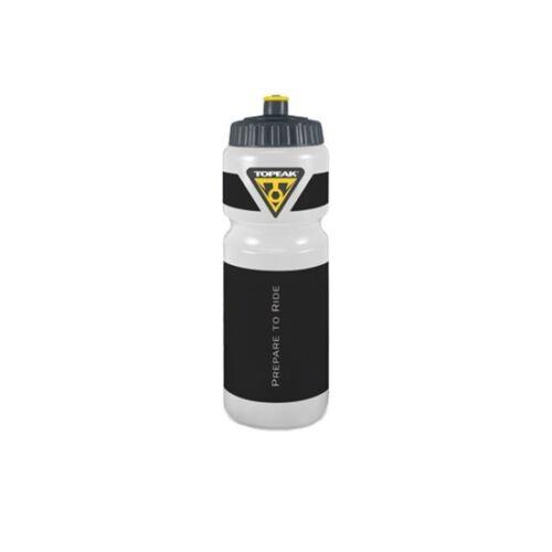 Nero//Chiaro Topeak Bottle 0,75 L in plastica-Borraccia Bicicletta Bottiglia D/'acqua