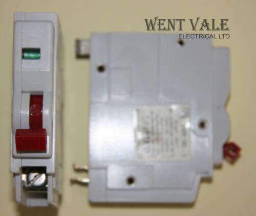 Square D qo-e MK1-6a type 3 single pole RCM avec red interrupteurs utilisé