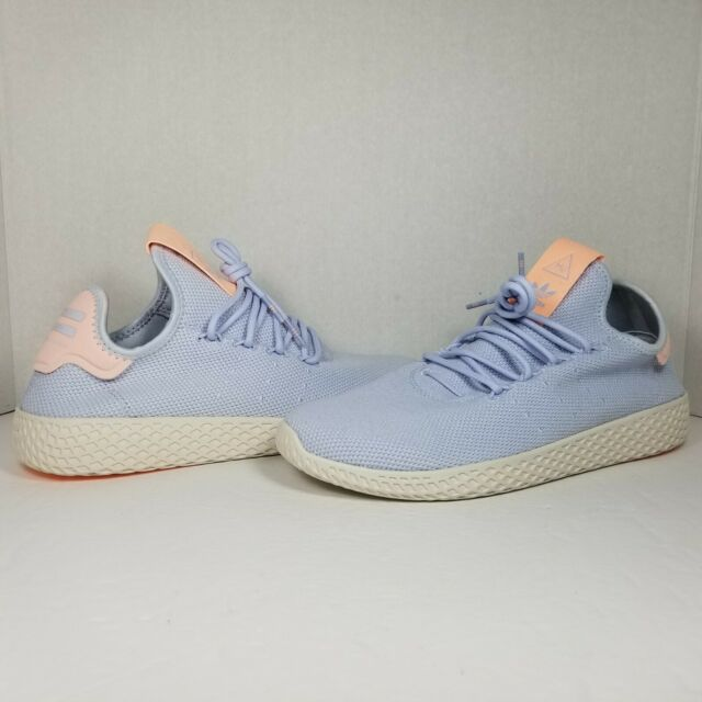 elegante Bienvenido lo hizo  Size 9.5 - adidas Tennis HU x Pharrell Aero Blue 2018 for sale online | eBay
