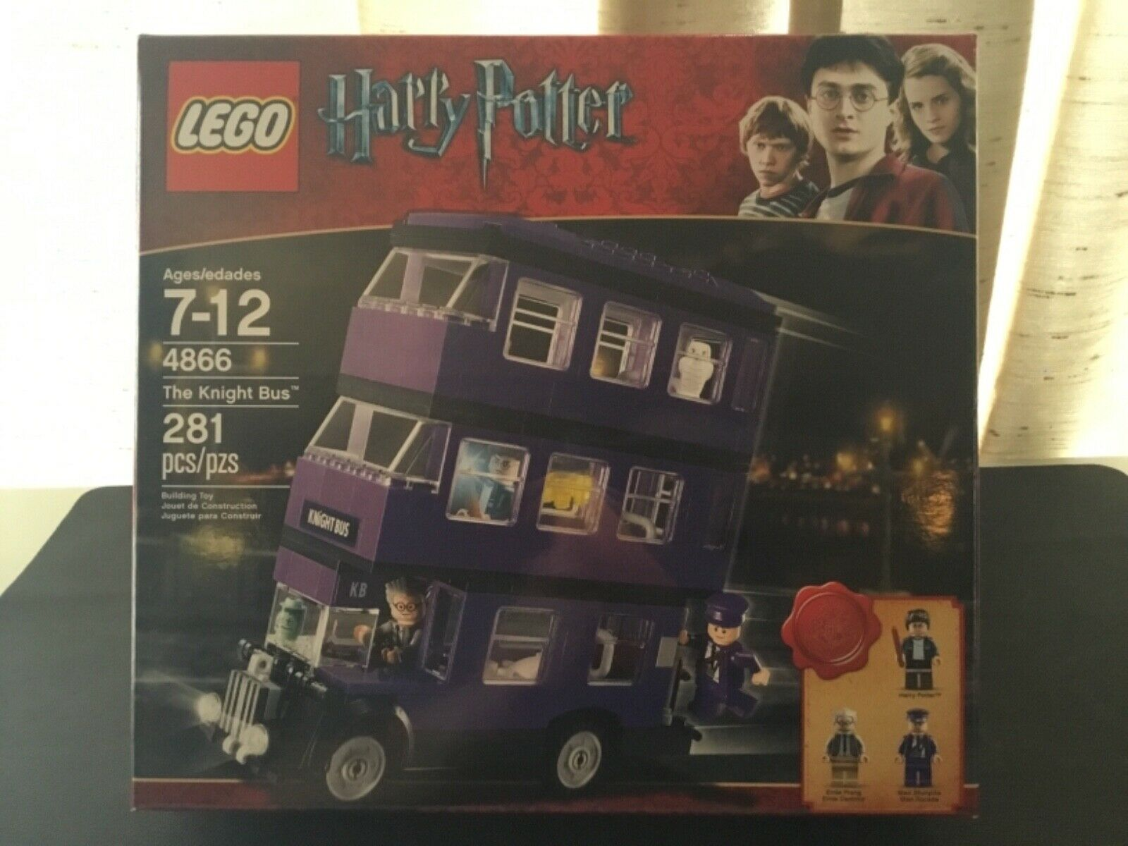 Lego Harry Potter El Caballero Bus 4866 Ernie Prang danlmur Stan Shunpike Rocade