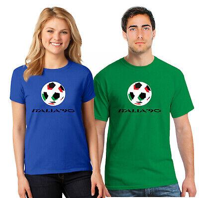 Italia 90 Classic Fifa World Cup Retro Italy Tumbir Tee Top UnisexT Shirt B678