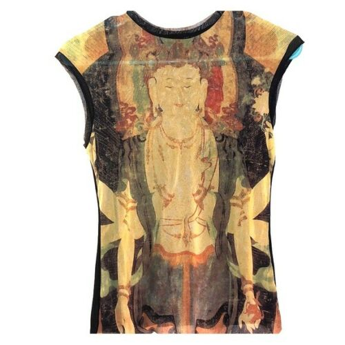 Vivienne Tam Buddha Shirt Vintage