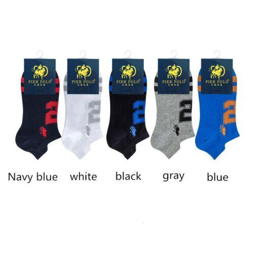 1Pairs Sock Anti-odor Sports Socks Men/'s Pure Cotton Boat Socks