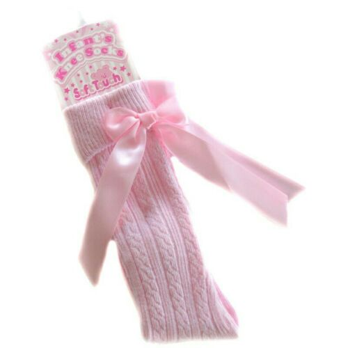 Baby Girls Ribbed Knee High Socks Soft Touch Bow White Pink Grey Navy Red 0-6Yrs
