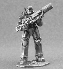 54mm Fallout raider with Ak-74 rifle miniature