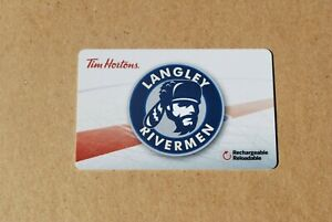 TIM-HORTONS-GIFT-CARD-LANGLEY-RIVERMAN-NEW-4-AVAILABLE-FREE-SHIPPING