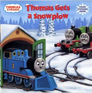 Thomas-Gets-a-Snowplow-Thomas-amp-Friends-Pictureback-R