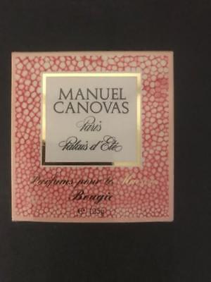 125g 4.2 oz Manuel Canovas Palaid d/'Ete Candle