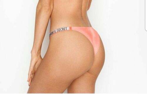 Victorias Secret BRAZILIAN Panty SHINE Bling Cheeky NWT Rhinestone Bombshell XS