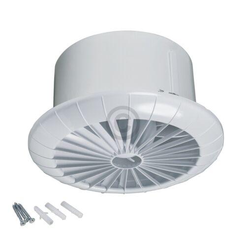 Logement Ventilateur 150err blanc avec roulement à billes pour plafond salle de bains toilettes etc