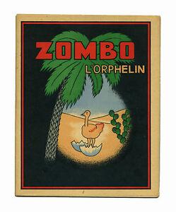 Coloriage Bebe Autruche.1950 Enfantina Livre De Coloriage Pour Enfant Zombo L Orphelin