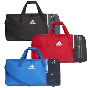 56b4a58a50bfa Das Bild wird geladen adidas-Tiro-Teambag-Sporttasche-Gr-L-schwarz-rot-