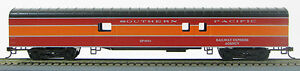 "HO 72 Ft Smoothside Passenger Baggage Southern Pacific ""Daylight"" (1-1022)"