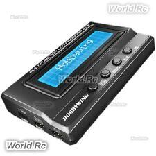 HobbyWing 3in1 RC Xerun Ezrun Platinum ESC Multifunction LCD Program Box NEW