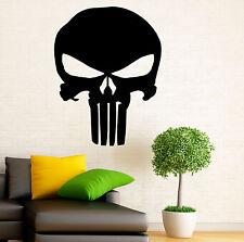 Punisher Skull Wall Decal Vinyl Sticker Marvel Comics Character Art Decor 1pn01r