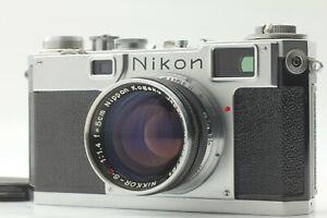 N MINT + + Nikon s2 Rangefinder Film Camera Nikkor SC 5cm 50mm f/1.4 Lens Japan