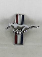 FORD MUSTANG PONY EMBLEM LH 00-03 OEM TRIBAR HORSE FENDER BADGE sign symbol logo