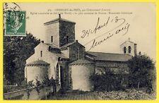 cpa 45 - GERMIGNY des PRÉS (Loiret) ÉGLISE Oratoire Carolingien Charlemagne