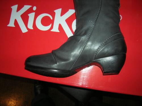 Taglie 36 4cm Heel 37 Leather New Antracite Soho El Value199e Kickers P8zgff