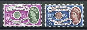 S10281) Great Britain 1960 MNH Europa 2v