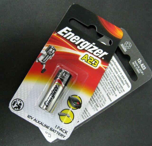 1 Pile A23 ENERGIZER LR23A LRV08 GP23A M21 23A 12Volt