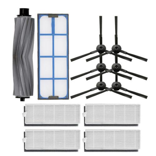 HEPA Filter /& Rollen Seiten Bürsten Kits Für ILIFE A8 A6 X620 X623 Kehrroboter